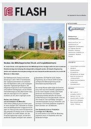 Neubau Druck- und Logistikzentrum - IE Engineering Group AG