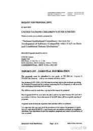 REQUEST FOR PROPOSAL (RFP) 01 April 2013