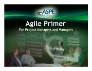 Agile Primer for Federal PMs and Managers - ASPE