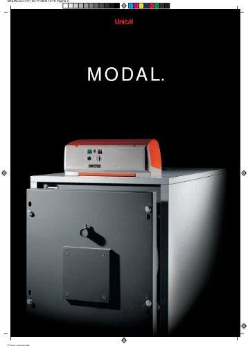 Unical - Стальные котлы под вентиляторную горелку Modal