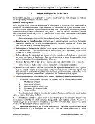 Asignación de recursos y equidad en la Seguridad Social de Costa ...