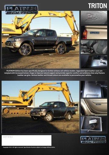 2012 Mitsubishi Triton - Retro Vehicle Enhancement