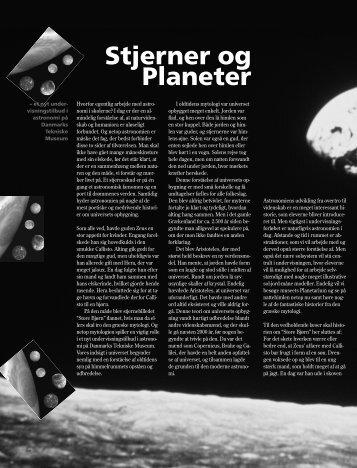 """""""Stjerner og Planeter"""" (pdf) - Danmarks Tekniske Museum"""