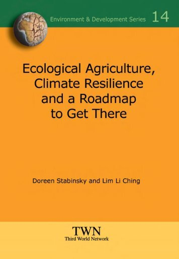 Ecological Agriculture, Climate Resilience and a Roadmap to Get ...