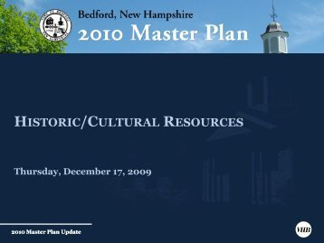 HISTORIC/CULTURAL RESOURCES - VHB.com