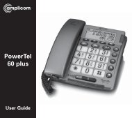 T447 Powertel 60 Plus - Action On Hearing Loss