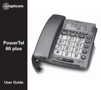 T447 Powertel 60 Plus - Action On Hearing Loss