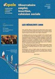 Les résultats 2006 - Opale