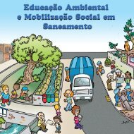 Educação ambiental e mobilização social em saneamento - Sedhab