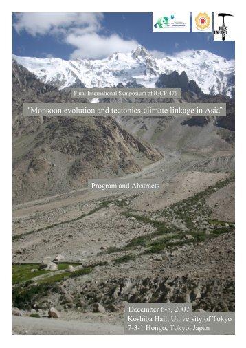 Program and Abstracts (PDF 7.7 Mbyte)