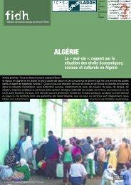 la mal-vie en Algérie