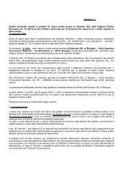zone carenti ped II sem.pdf - Bollettino Ufficiale della Regione Emilia ...