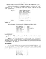 09-13-11 City Council Meeting Minutes - the City of Hopewell Virginia