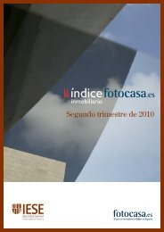 La vivienda en el segundo trimestre de 2010. - Fotocasa