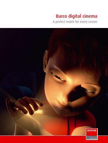 Barco digital cinema - Iceco.com