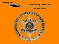 Coconino County Sheriff's Office Bill Pribil, Sheriff - AESA