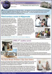 Newsletter_ March 2011.cdr - LV Prasad Eye Institute