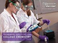 COLLEGE CHEMISTRY - Vernier Software & Technology