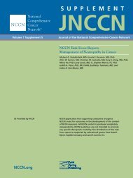 NCCN Task Force Report: Management of ... - ResearchGate