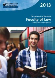 Frequently Asked Questions - Faculty of Law - The University of ...