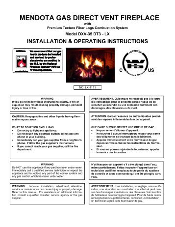 Outstanding Mendota Dxv 35 Installation Manual Interior Design Ideas Greaswefileorg