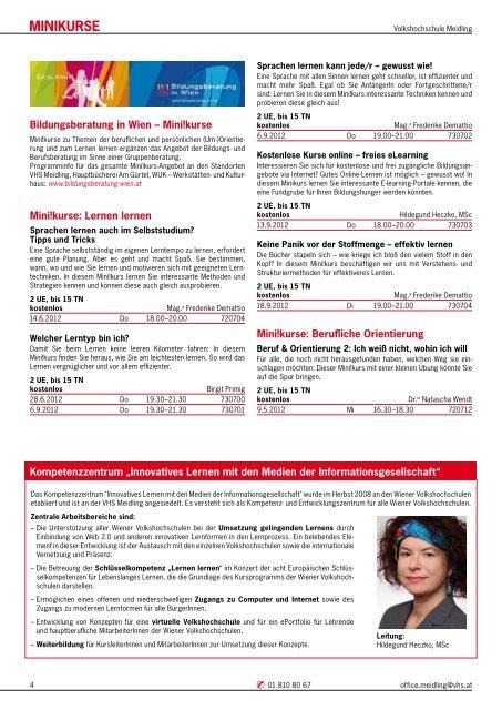 sPrAcHeN - Verband Wiener Volksbildung