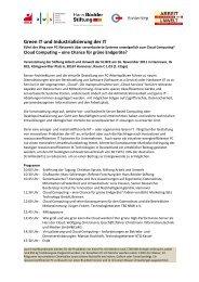 Green IT und Industrialisierung der IT - buy smart - Green ...