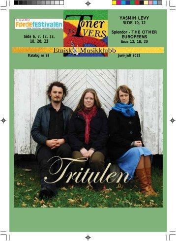 Katalog nr 92 - Velkommen til Etnisk Musikklubb