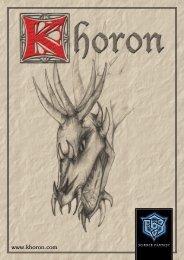 Regelwerk - Khoron