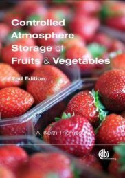 Controlled Atmosphere Storage of Fruits and Vegetables, Second ...