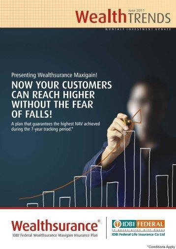 Wealth Trends - June 2011 PDF - IDBI Federal Life Insurance