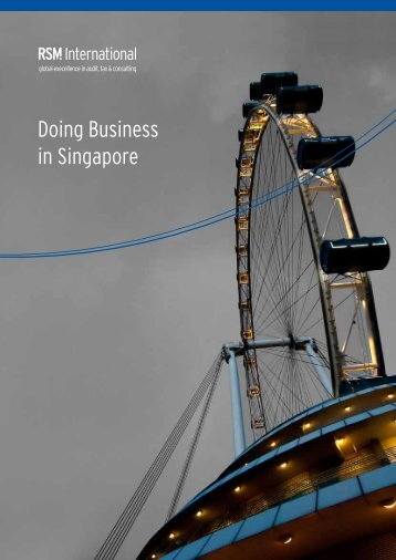 Doing Business in Singapore - RSM International