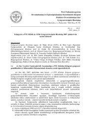 Pécsi Tudományegyetem - PTE Általános Orvostudományi Kar