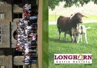 Newsletter No. 64 - Longhorn Cattle Society