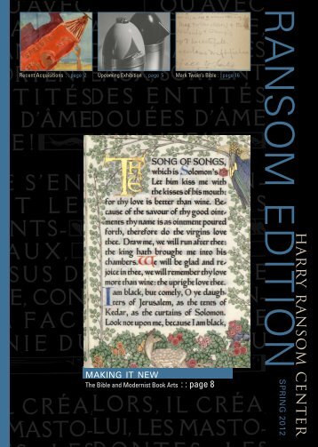 Download - Harry Ransom Center - The University of Texas at Austin