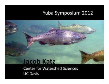 Jacob Katz_2012 and Beyond - Lower Yuba River Accord