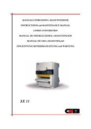 cb sx operating manual