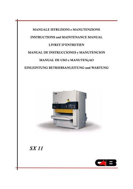 cb sx operating manual