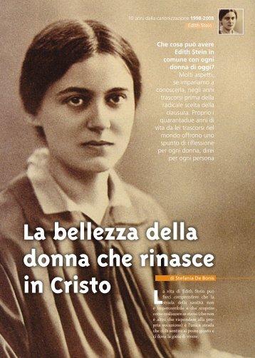 La bellezza della donna che rinasce in Cristo - Suore Carmelitane di ...