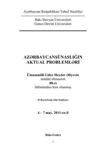 kitab 1 - Bakı Slavyan Universiteti
