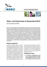 und Artenschutz in Deutschland 2012 - Nationalpark Steigerwald