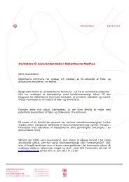 Se invitation - Københavns Madhus
