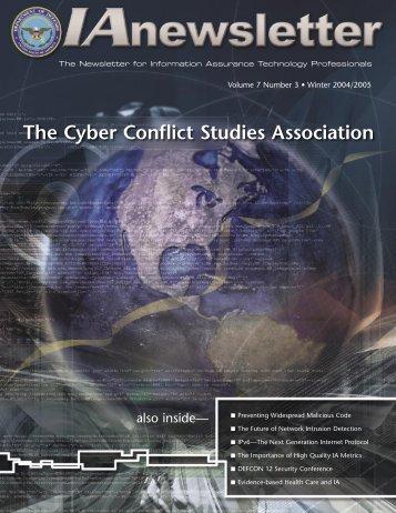Volume 7, No. 3 - IAC - Defense Technical Information Center