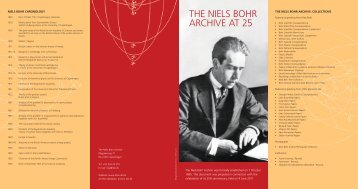 THE NIELS BOHR ARCHIVE AT 25