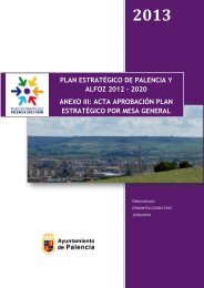 acta de aprobación del plan estratégico por la mesa general