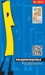 Aktuelles Programm als PDF-Datei - VHS Kaiserslautern