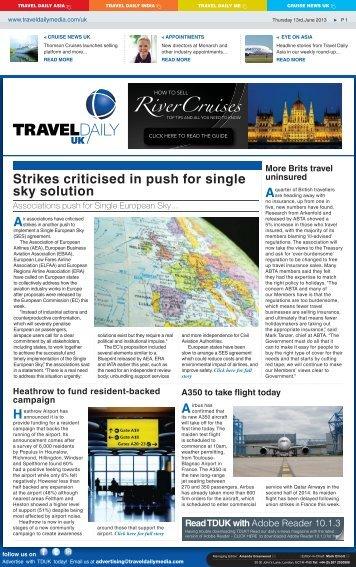 Thursday 13rd.June 2013.indd - Travel Daily Media