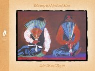 2004 Annual Report [PDF 6.6MB] - American Indian College Fund