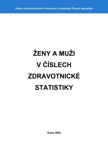 Ženy a muži v číslech zdravotnické statistiky - ÚZIS ČR