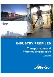 Transportation and Warehousing Industry